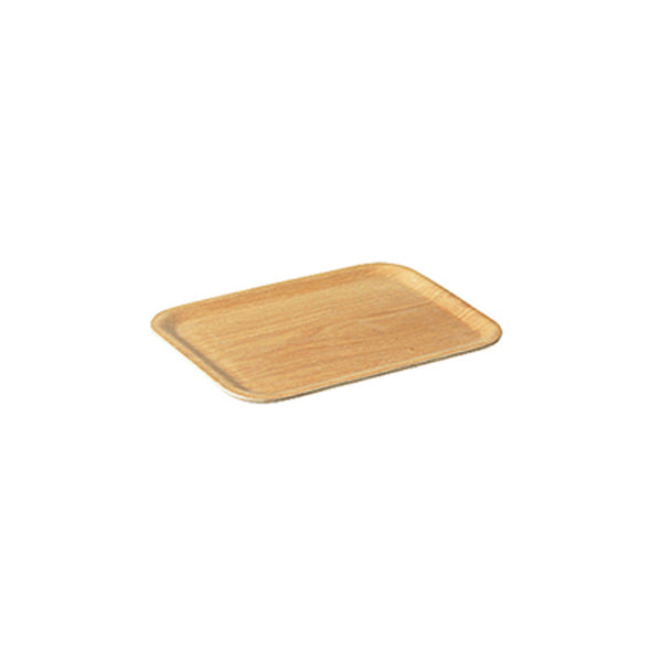 "Nonslip Wooden Tray, 13"", by Kinto"