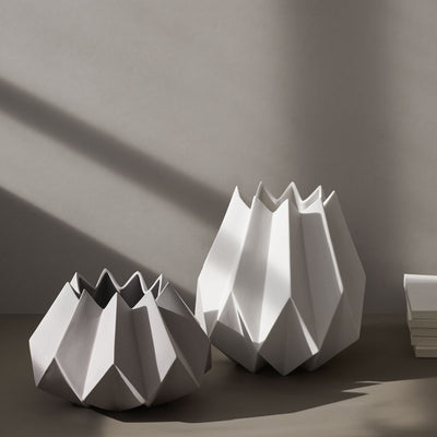Folded Vase Tall by Menu