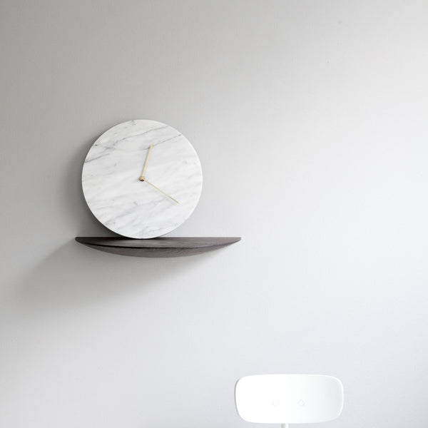 Marble Wall Clock  by Menu