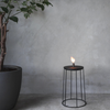 Wire Disc Oil Lamp by Menu