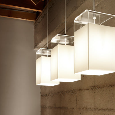 Tube Top Pendant Lamp by Pablo