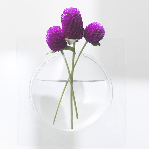 Kaki Flower Vase by +d