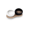 Salt and Pepper Cellar with Holder by Rosendahl