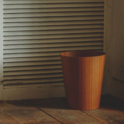Waste Basket by by Saito Wood