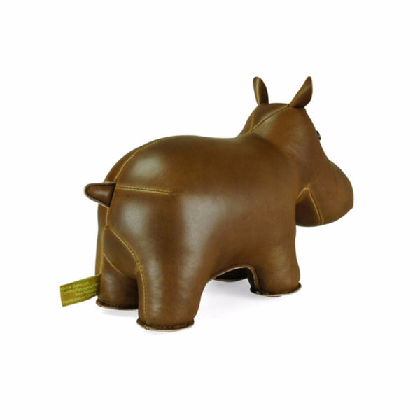 Classic Hippo Bookend by Zuny