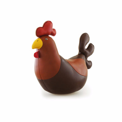Classic Rooster Paperweight by Zuny