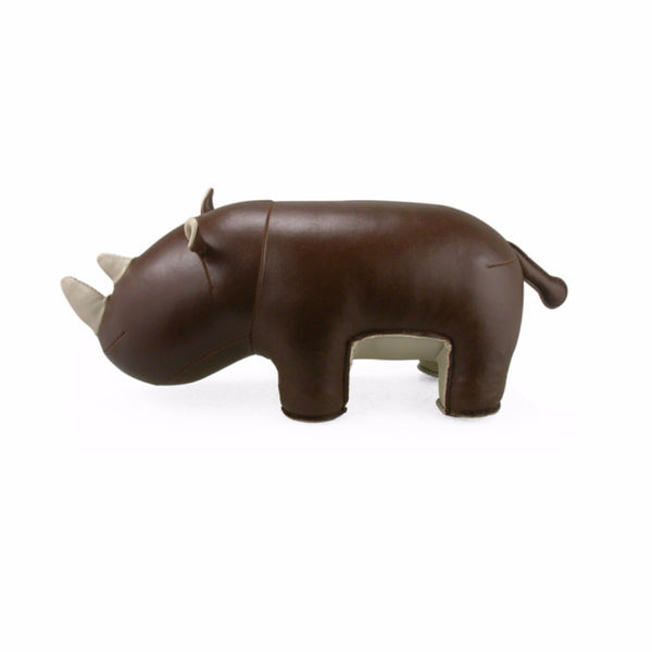 Hino the Rhino Bookend by Zuny