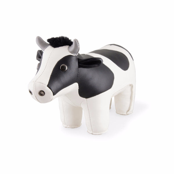 Classic Holstein Cow Bookend by Zuny