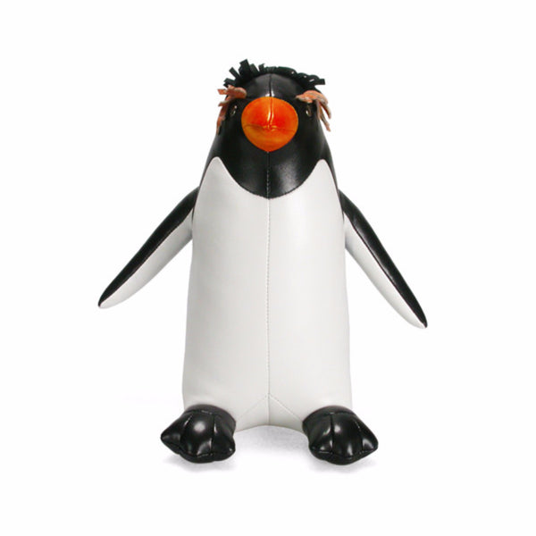 Classic Macaroni Penguin Bookend by Zuny