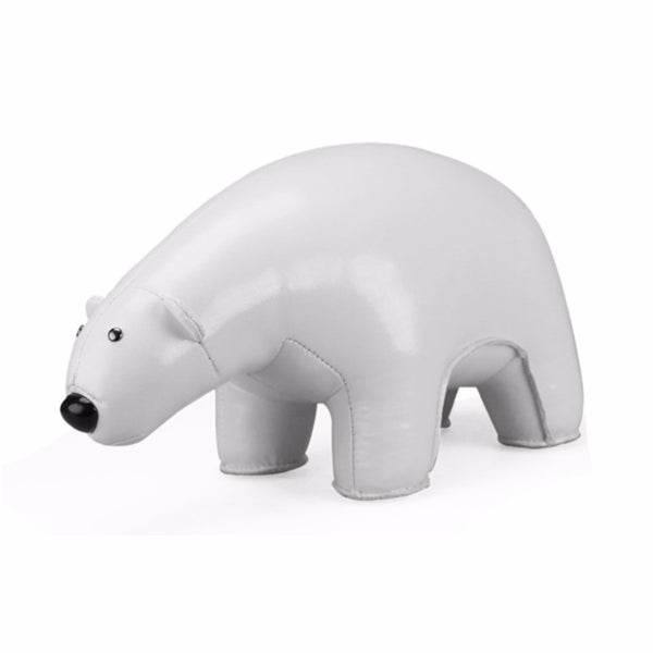 Classic Polar Bear Bookend by Zuny