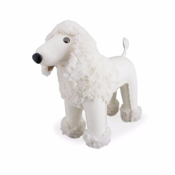Classic Poodle Bookend by Zuny