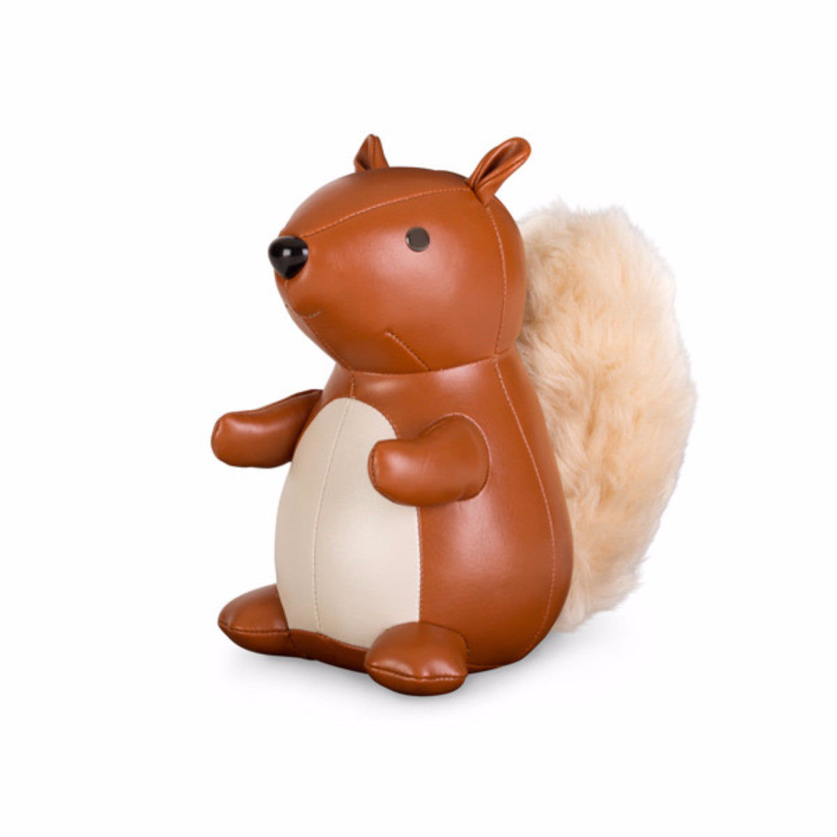 classic squirrel bookend by zuny  emmo home - classic squirrel bookend by zuny