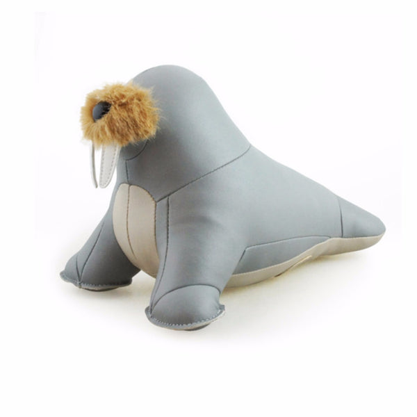 Walu the Walrus Bookend by Zuny