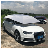 Half Automatic Awning Tent Car Cover Outdoor Waterproof Folded Portable Car Canopy Cover Anti-UV Sun Shelter Car Roof Tent 2018
