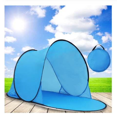 Outdoor Camping Automatic Up Quick Open Tent Waterproof UV Beach Sunshade Canopy Toy Tents For Children Baby Gifts
