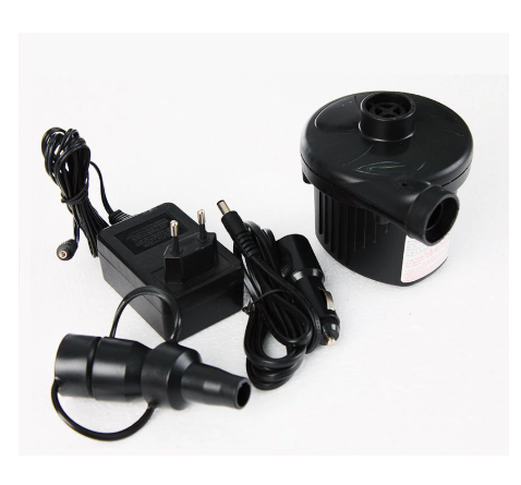 Air Compressor DC 12V and AC 220V Cigarette Lighter Car Electric for Camping Bed Mattress Boat Inflator Defator Inflatable Pump