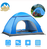 MYJ Ultralight Family Dome Tent One Touch Camping Sun Shelters Automatic quick open tent for Outdoor Hiking