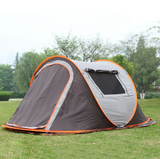 Outdoor Beach Camping Tent Large Space 3-4 persons Automatic Speed Open Throwing Pop up