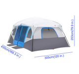 Large Family Camping Tents Waterproof Cabin Outdoor Tent Event Marquee Tents
