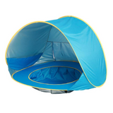 Outdoor Kids Baby Beach Tent Sun Shelter with Pool Waterproof Pop up Awning Tent
