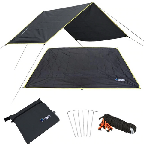 Camping Mat Blanket Ultralight Outdoor Waterproof Tent Tarp Footprint Ground Oxford Sheet Mat Blanket Canopy