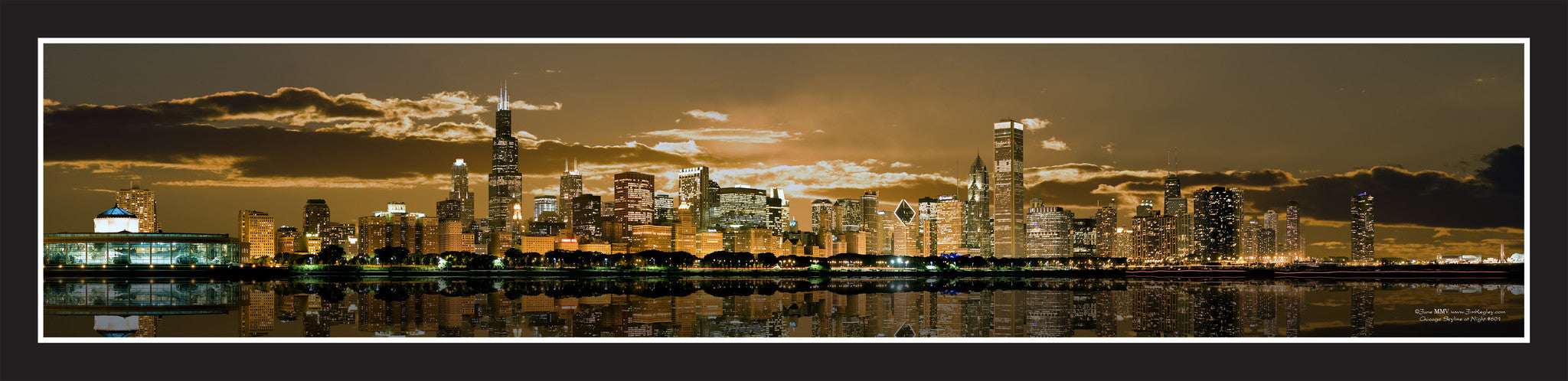 #601 Chicago Skyline Sample 1