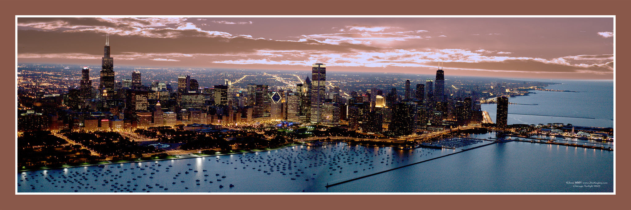 #603 Chicago Twilight