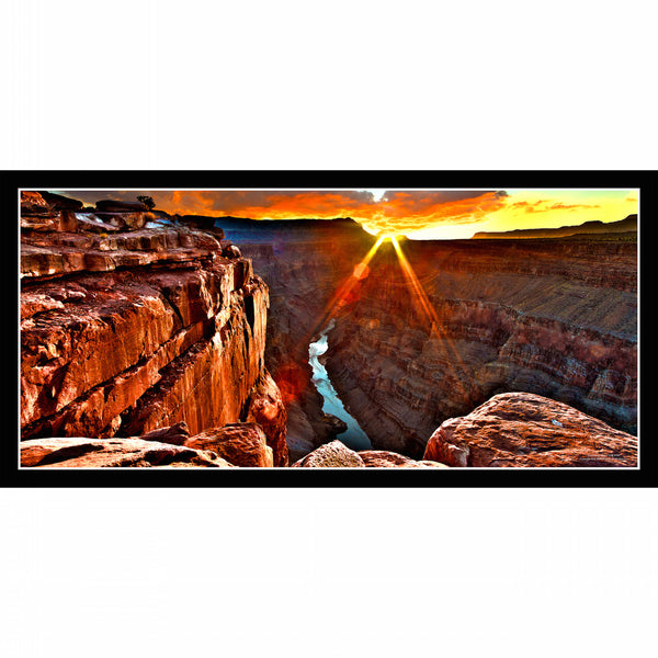 #797 Toroweap Sheer Cliffs Framed