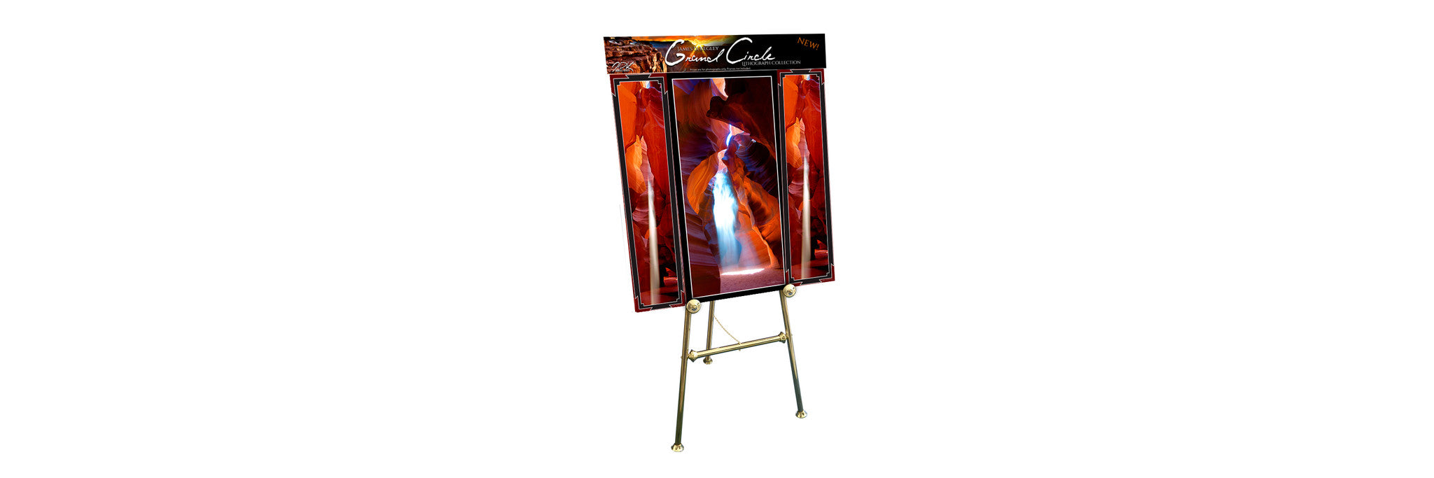 Grand Circle Easel Display - #219 and #220