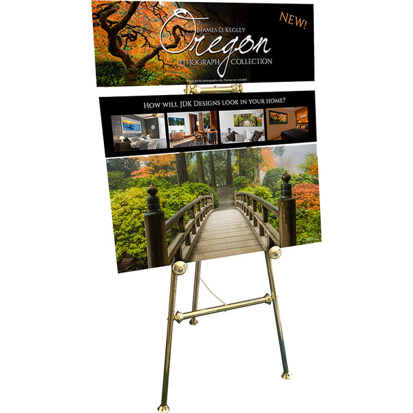Oregon Easel Display - #501