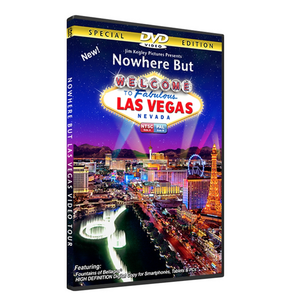 #588 Nowhere But Las Vegas DVD