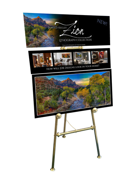 Zion Easel Display - #108
