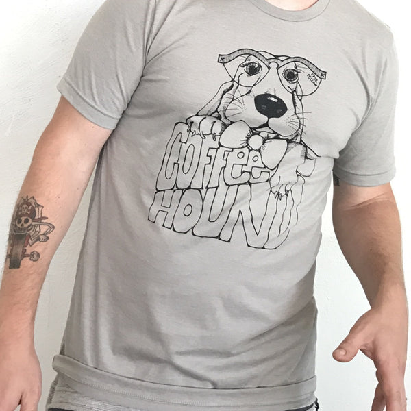 Coffee Hound Tee (S,M,XL on back order)
