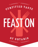 feast on logo