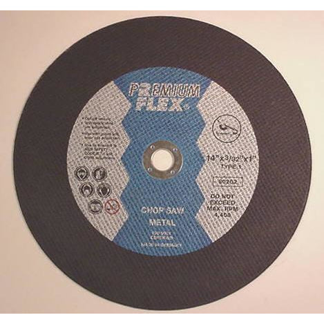 Premium Flex 14 x 3/32 x 1 Chopsaw Wheels (10 box) - ATL Welding Supply