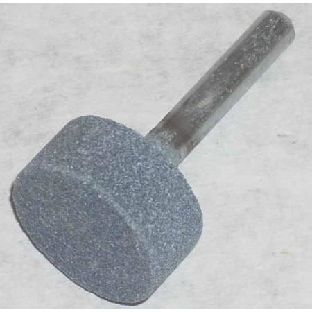 1 x 1/2 x 1/4 Coarse Cylinder Grinding Stone - ATL Welding Supply