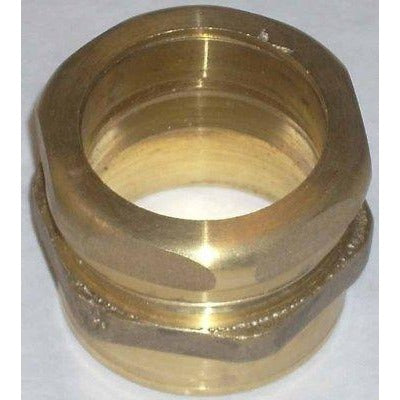 Pasco Brass 1950 Plumbing Waste Connector Fitting 1 1/2 - ATL Welding Supply