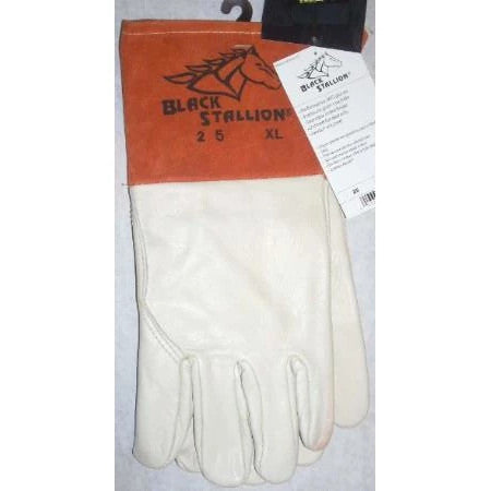 Black Stallion 25XL Mig Welding Gloves Size XL - ATL Welding Supply