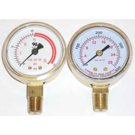 "2"" Acetylene Regulator Gauge Set - ATL Welding Supply"