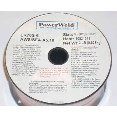 ER70S-6 Mig Welding Wire .030 2lbs. - ATL Welding Supply