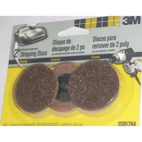 "3M Products 2"" Coarse Surface Conditioning Discs 3pk"