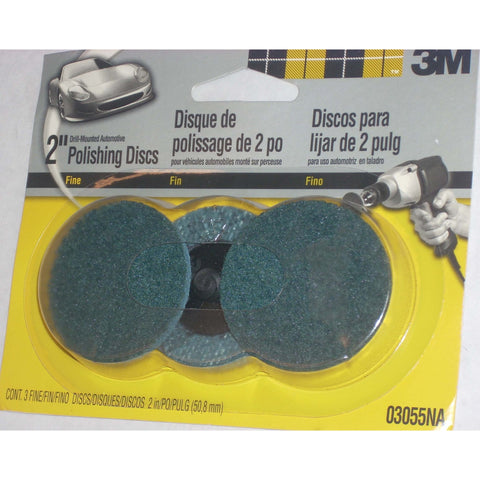 "3M Products 2"" Fine Surface Conditioning Discs 3pk"
