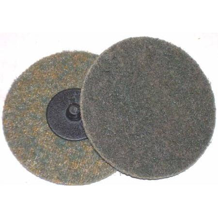 "3"" Quick Change Fine Surface Condition Pads 10pk - ATL Welding Supply"
