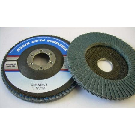4 1/2 x 7/8 Zirconia Flap Wheels 40 Grit 10 PACK - ATL Welding Supply