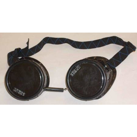 100 Black Welding Eye Cup Goggles