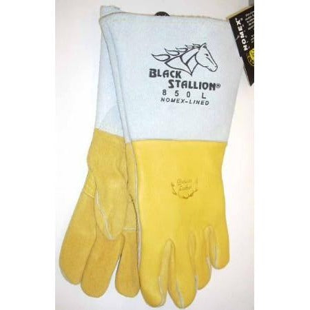 Black Stallion 850L Premium Welding Gloves Large - ATL Welding Supply