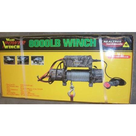8000lb Electric Winch 2.2 HP