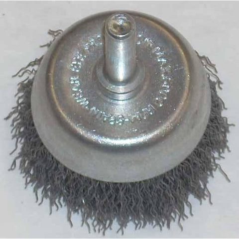 1 1/2 x 1/4 Crimp End Brush