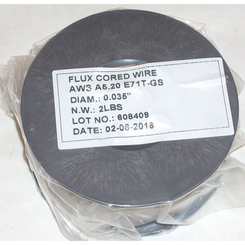 E71T-GS Fluxed Cored Gasless Mig Welding Wire .035 2lbs – ATL ...