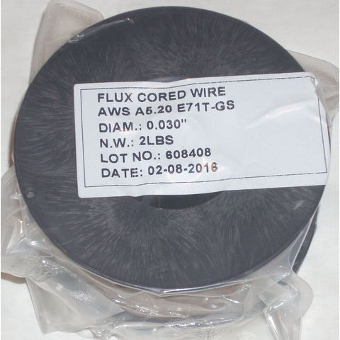 E71T-GS Fluxed Cored Gasless Mig Welding Wire .030 2lbs - ATL Welding Supply